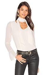 Rima scarf blouse - Line & Dot