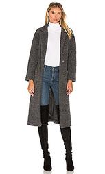 Пальто с запахом fenn - Ganni
