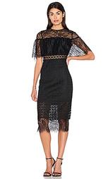 Миди платье с зауженным подолом - Cynthia Rowley