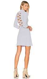 X knitz simone laced back sweater dress - For Love & Lemons