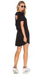 Драпированное мини платье с карманом - Chaser