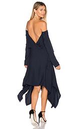 Платье с открытыми плечами и спиной - KITX
