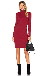 Вязаное платье с воротником водолазка - EGREY