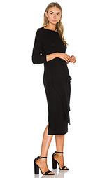 Платье с завязкой спереди maivy - three dots