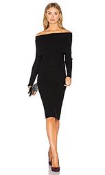 Платье со спущенными плечами lea - Line & Dot