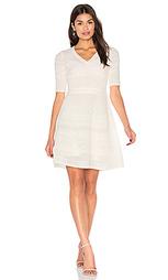 3/4 sleeve fit & flare dress - M Missoni