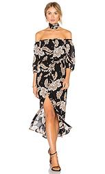 Платье с принтом пейсли jessa - Bardot
