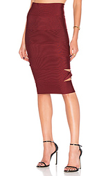 Sophia cut out midi skirt - LOLITTA
