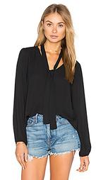 Блуза с длинным рукавом и v-образным вырезом - Eight Sixty