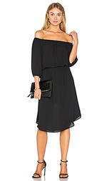 Миди платье с открытым плечом - Eight Sixty
