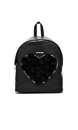 Рюкзак с помпоном heart - Love Moschino
