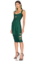 Миди-платье с вырезом sophia - LOLITTA