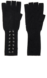 Перчатки на шнуровке с открытыми пальцами - Autumn Cashmere
