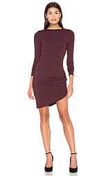 Обрезанное платье с асимметричным подолом - twenty