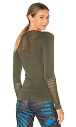 Бесшовная футболка с длинным рукавом - ALALA