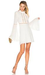 Платье с рукавами-колоколами willow - For Love & Lemons