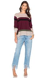 Приталенный свитер в полоску - Wilt