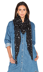 Легковесный шарф со звездным рисунком - Maison Scotch