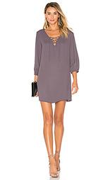 Мини платье со шнуровкой penelope - Three Eighty Two