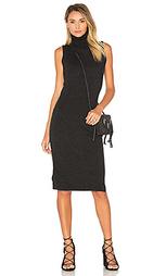Вязаное платье без рукавов с высоким воротом - Autumn Cashmere