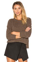 Укороченный свитер с круглым вырезом - Autumn Cashmere
