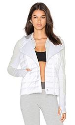 Компактная атласная куртка 3 в 1 - BLANC NOIR