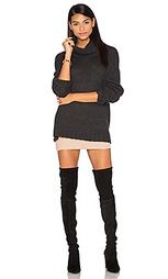 Кашемировый свитер с высоким воротом rhea - 360 Sweater