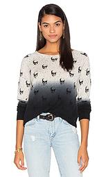 Кашемировый свитер с рисунком череп yolanda - 360 Sweater