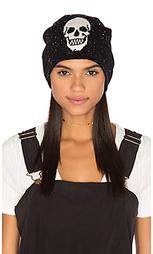 Кашемировая шапочка с черепом - 360 Sweater