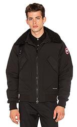 Куртка-бомбер с окрашенным воротником из овечьего меха bromley - Canada Goose