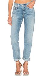 Прямые джинсы с высоким поясом helena - GRLFRND