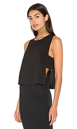 Moss crepe panel top - Bella Luxx