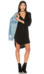 3/4 sleeve split neck tunic - Michael Stars