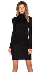 Платье с воротником-водолазка - twenty