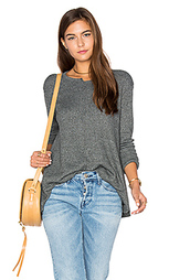 Shifted crew trapeze long sleeve top - Wilt