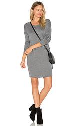 Трапециевидное платье из смеси кашемира - Bella Luxx