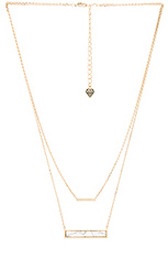Ярусное ожерелье marble bar - Wanderlust + Co
