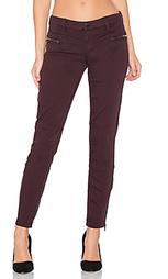 Узкие мото джинсы с молниями внизу штанин - BLANKNYC