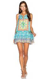 Цельнокройное платье с рюшами - HEMANT AND NANDITA