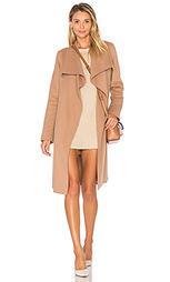 Пальто с отделкой мехом азиатского енота oxana - Soia & Kyo