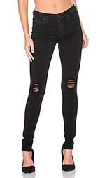 Рваные узкие джинсы nico - Hudson Jeans