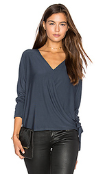 Wrap surplice top - krisa