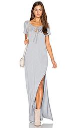 Макси платье-рубашка в восточном стиле - Lanston
