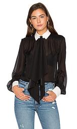 Шелковая блузка bex - RACHEL ZOE