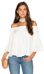 Pintucked top - Tibi