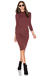 Long sleeve mock neck dress - ATM Anthony Thomas Melillo
