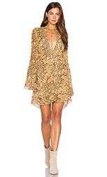 Платье с глубоким v-образным вырезом - ANIMALE