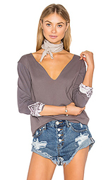 Unfinished edge decollete tee - Gypsy 05