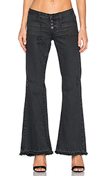 Расклешенные джинсы le cats - One Teaspoon