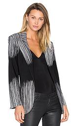 Пиджак с широкой полосой - Norma Kamali